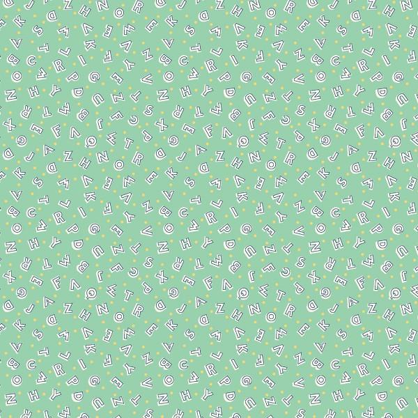 Green Alphabet 98598 715