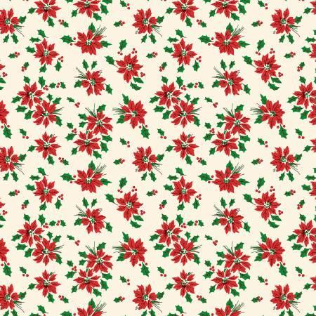 Cream Poinsettia Toss