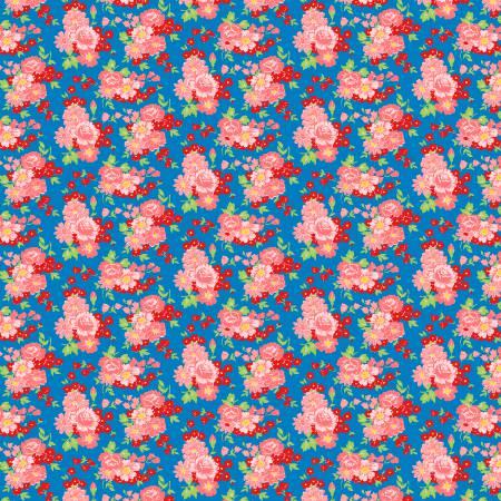 Blue/Pink Roses #98634