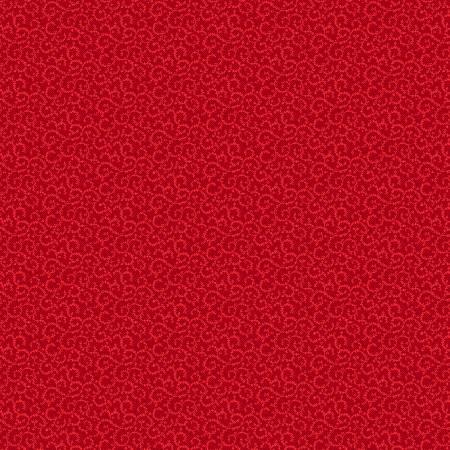 Red Crescent Swirl