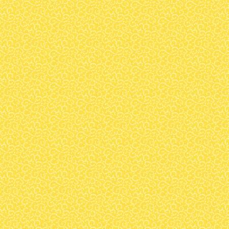Sunshine Yellow Crescent Swirl