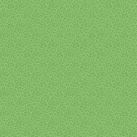 Light Green Crescent Swirl