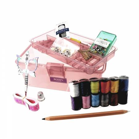 Bohin Sewing Tools Gift Box Filled Kit - 8 in x 4 in