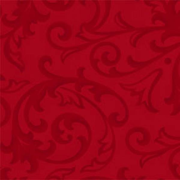 Red Baroque 108in Quilt Back 3 yds