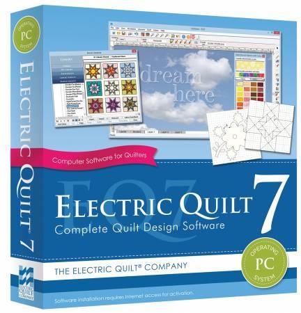 Software Electric Quilt 7 Quilt Design  EQ7 *