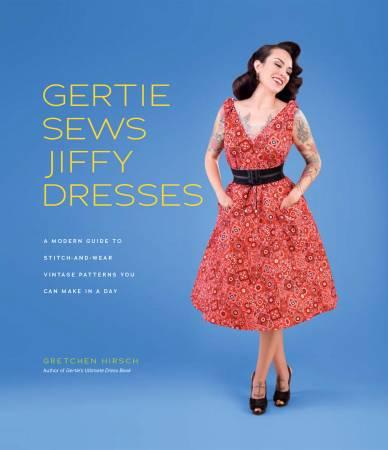 Gertie Sews Jiffy Dresses Book
