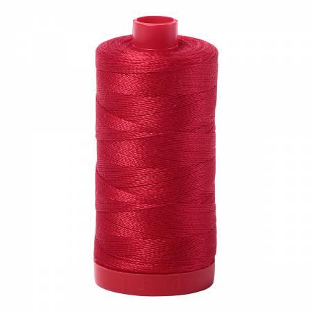 Aurifil Mako Cotton Thread 12wt 356yds - Red 2250