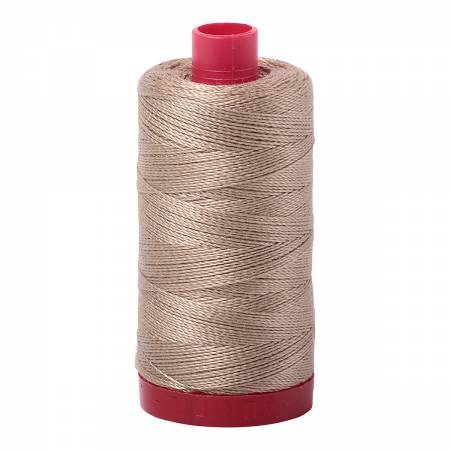 Mako Cotton Embroidery Thread 12wt 356yds Linen