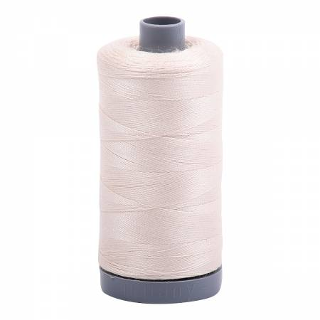 Mako Cotton Embroidery Thread 28wt 820yds Light Sand