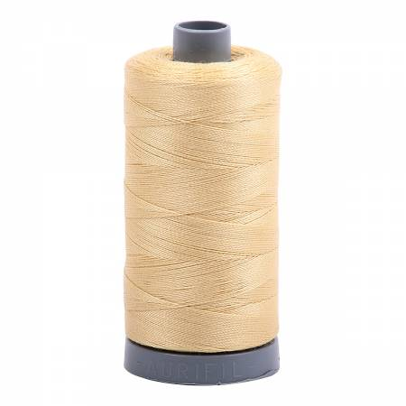 Mako Cotton Embroidery Thread 28wt 820yds Wheat