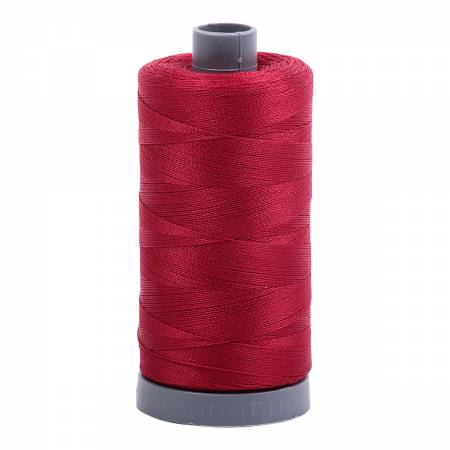 Mako Cotton Embroidery Thread 28wt 820yds Red Wine