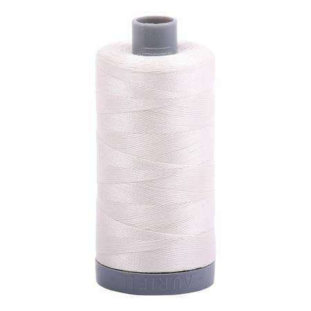 Mako Cotton Embroidery Thread Solid 28wt 820yds Muslin