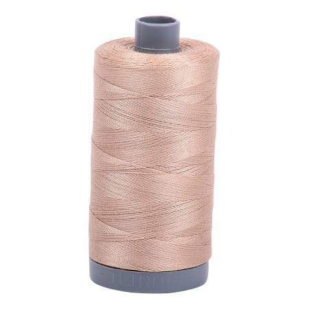 Mako Cotton Embroidery Thread 28wt 820yds Beige
