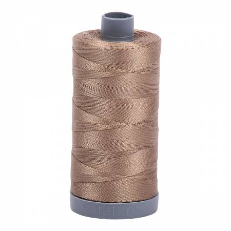 Mako Cotton Embroidery Thread 28wt 820yds Sandstone