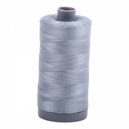 Mako Cotton Embroidery Thread 28wt 820yds Light Blue Grey