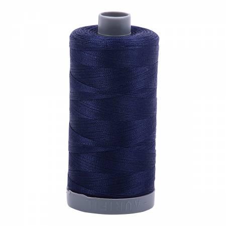 Mako Cotton Embroidery Thread 28wt 820yds Midnight