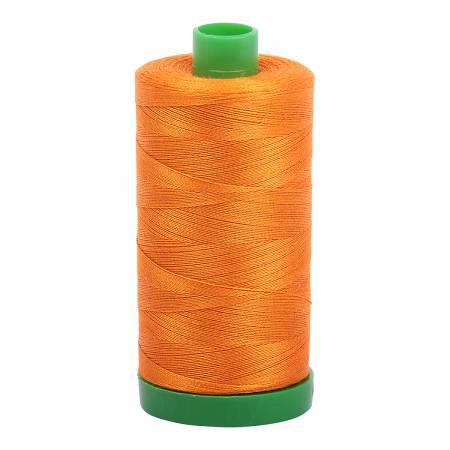 Aurifil Mako Cotton Thread 40wt 1094yds - Bright Orange 1133