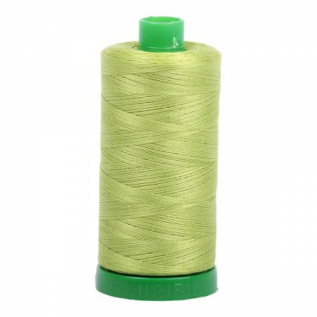 Aurifil Mako Cotton Thread 40wt 1094yds - Spring Green 1231