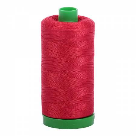 Aurifil Mako Cotton Thread 40wt 1094yds - Red 2250