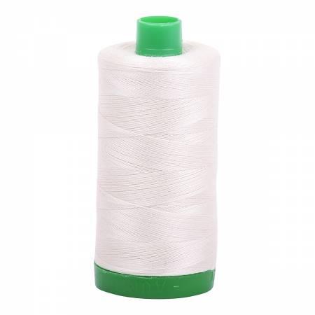 Aurifil Thread 40wt - Silver White