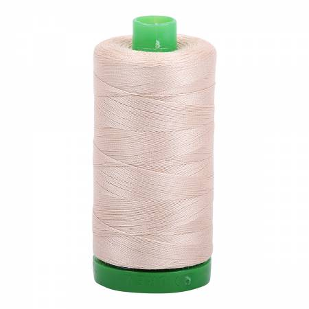 Mako Cotton Embroidery Thread Solid 40wt 1094yds - Ermine
