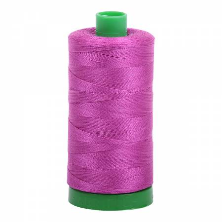 Mako Cotton Embroidery Thread 40wt 1094yds Magenta