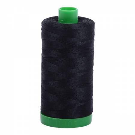 Aurifil Mako Cotton Thread 40wt 1094yds Black