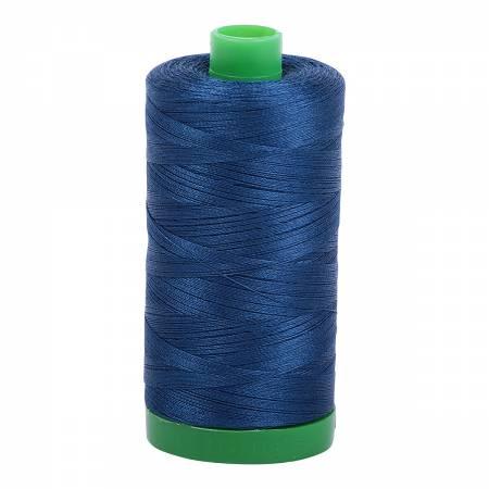 Aurifil Mako Cotton Thread 40wt 1094yds - Medium Delft Blue 2783