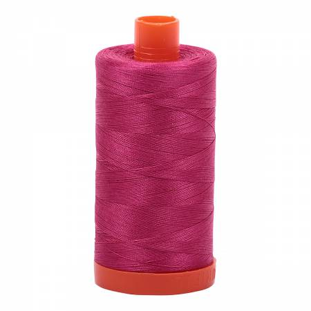 Red Plum 1100 Aurifil Mako Cotton Thread Solid 50wt 1422yds