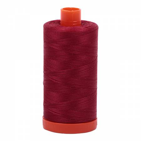 Mako Cotton Thread Solid 50wt 1422yds Burgundy