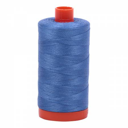 Aurifil 50/2 Cotton Solid 1422yds - #1128 Light Blue Violet