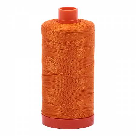 Bright Orange Mako Cotton