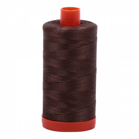 50 wt Aurifil Bark 100% Cotton Thread 1422 yards -1140