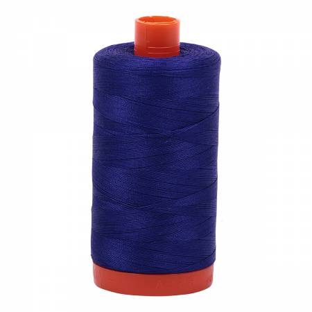 1200 Aurifil Cotton Thread Solid 50wt 1422yds Blue Violet