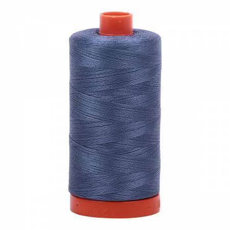 Aurifil Cotton Thread Solid 50wt 1422yds 1248 Dark Grey Blue