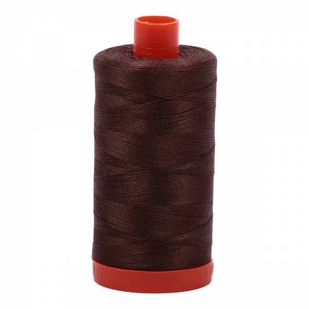 Aurifil Mako 50wt 1422 yd - Medium Bark