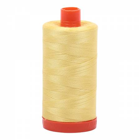 Aurifil Thread 50wt Lemon - 2115