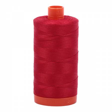 Aurifil Mako Cotton Thread Solid 50wt 1422yds Red