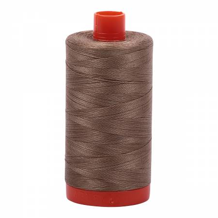 Aurifil 2370 - Mako Cotton Thread Solid 50wt 1422yds Sandstone