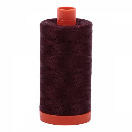Mako Cotton Thread 50wt 1422yds Dark Wine #2468