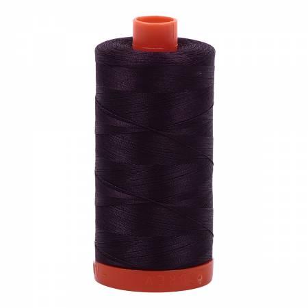 Mako Cotton Thread Solid 50wt 1422yds Aubergine