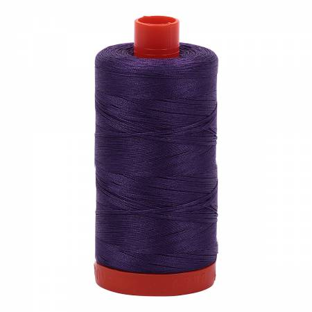 Aurifil 50wt Cotton 1422yds Dark Violet