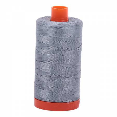 Aurifil Mako Cotton Thread 50wt 1422yds - Light Blue Grey 2610