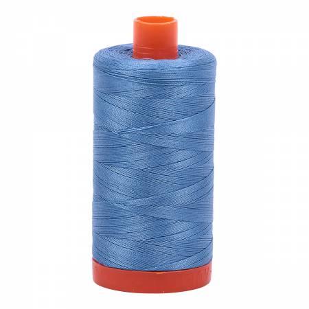 Mako Cotton Thread Solid 50wt 1422yds Light Wedgewood