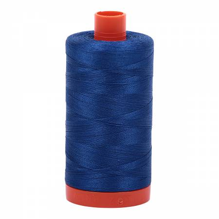 Mako Cotton Thread Solid 50wt 1422yds Dark Cobalt