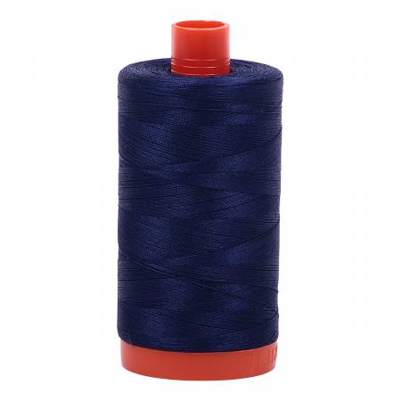 2745 Aurifil Cotton Thread Solid 50wt 1422yds Midnight