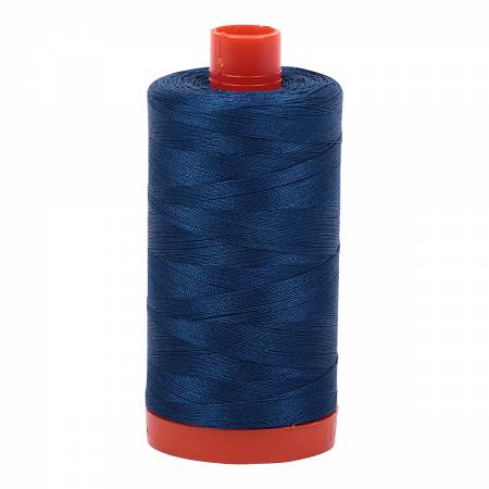 Mako Cotton Thread Solid 50wt 1422yds Medium Delft Blue