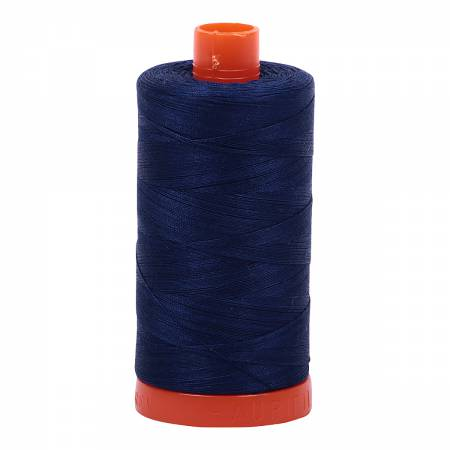 Mako Cotton Thread Solid 50wt 1422yds Dark Navy