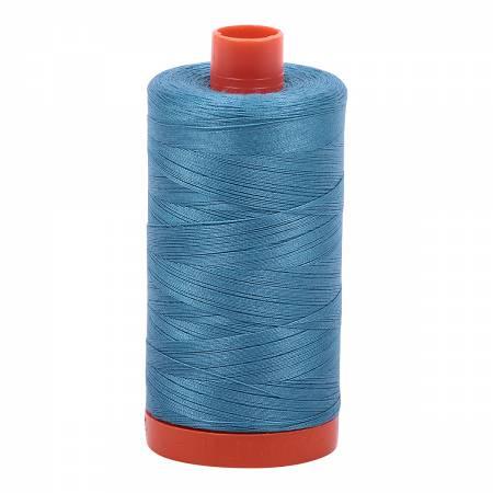 Aurifil Mako Cotton Thread Solid 50wt 1422yds Teal