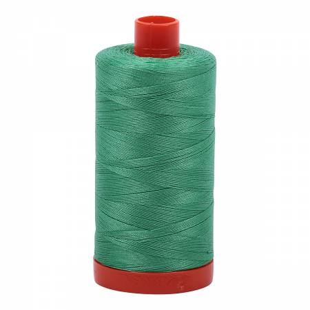 Light Emerald 2860 Aurifil Mako Cotton Thread Solid 50wt 1422yds